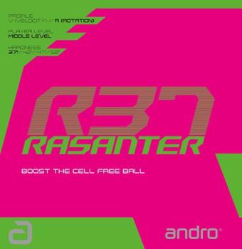 MẶT VỢT ANDRO Rasanter R37