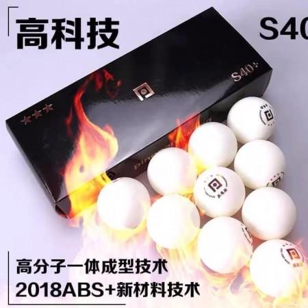 Bóng thi đấu 3 sao #pingpangwang S40+ ABS