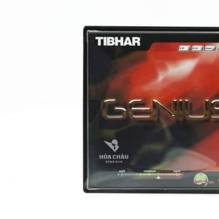 Mặt vợt Tibhar Genius - Siêu xoáy, siêu ổn định.