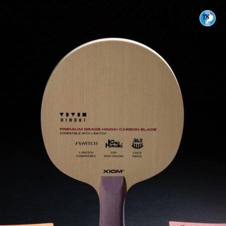 Cốt vợt Vivid với bộ sưu tập 9 màu sắc và Kết cấu gỗ Hinoki + Sợi Carbon